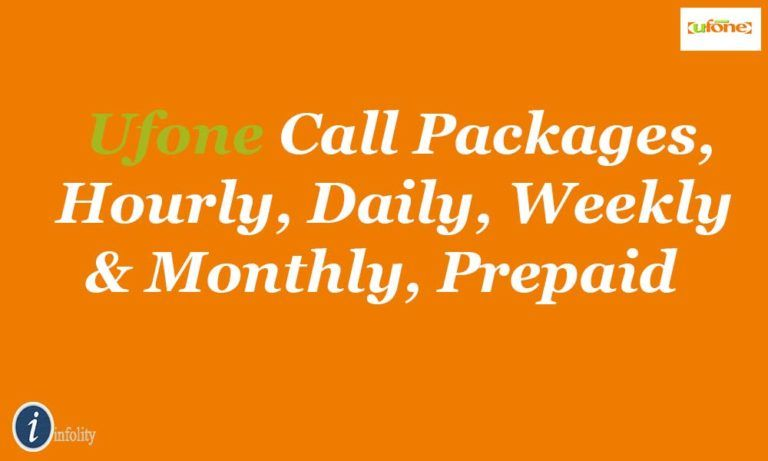 Ufone prepaid packages